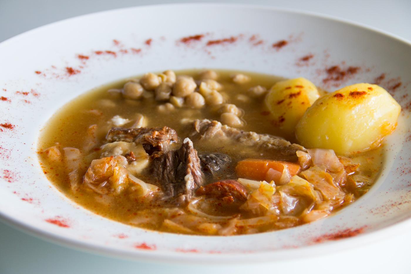Cocido madrile o en olla express i comando cocina - Cocido en olla express ...
