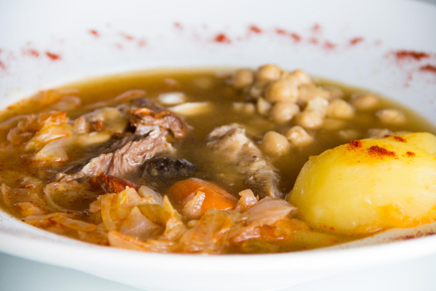 Cocido madrile o en olla express i comando cocina - Garbanzos olla express ...