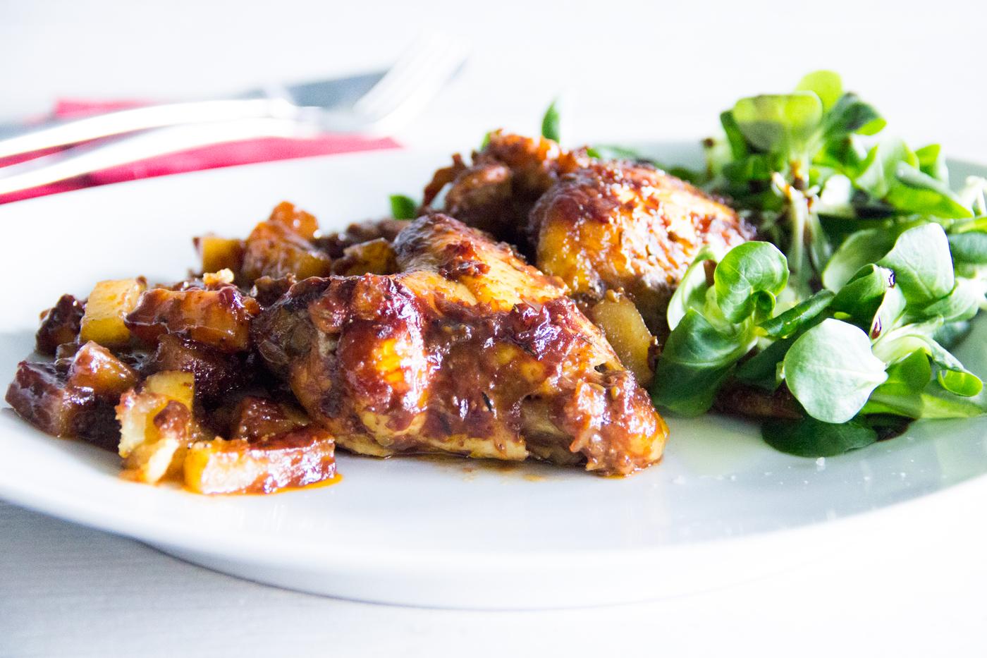 Alitas de pollo con salsa barbacoa bbq i comando cocina for Barbacoa bbq